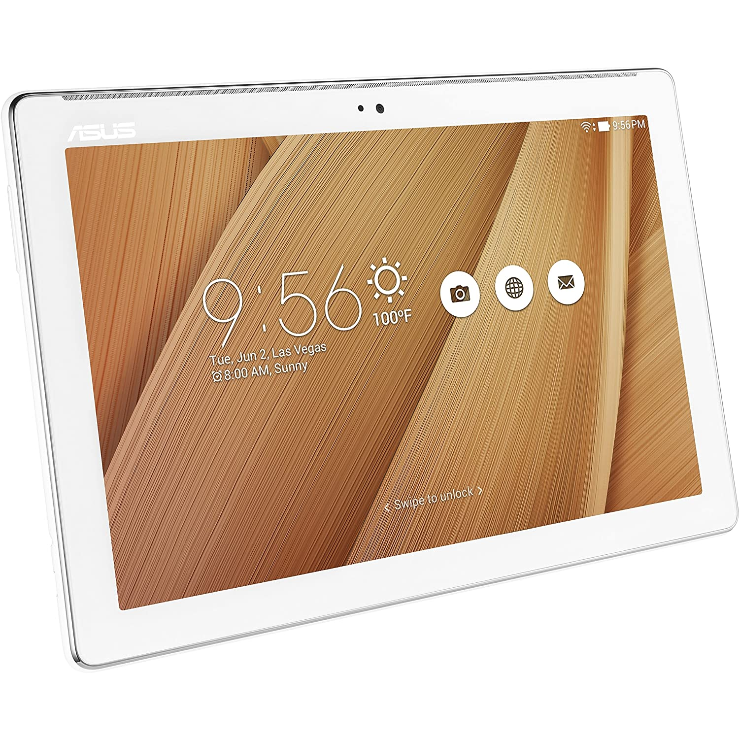 ASUS ZenPad 10 Rose Gold 10.1-inch Android Tablet [Z300M] 2MP Front / 5MP Rear PixelMaster Camera, WXGA Touchscreen, 2GB DDR3L, Quad Core 1.3GHz Processor, 802.11a/b/g/n, Bluetooth 4.0