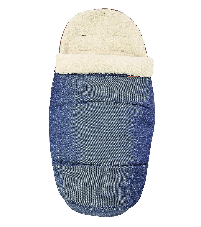 Maxi-Cosi kuschelig weicher 2-in-1 Fußsack, geeignet für alle Kinderwagen, auch als Sitzpolster verwendbar, Sparkling Blue Dorel Germany GmbH (VSS) 1809737110