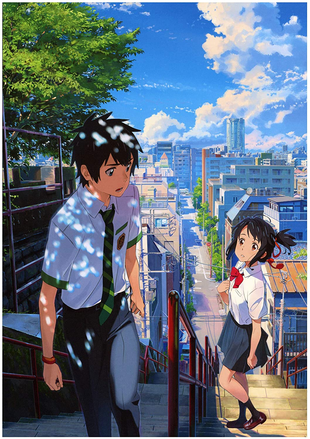 "Anime Wall Calendar 2021 (13 Pages 8""x11"") Kimi NO NA WA Anime Manga KOSH 8504 Your Name"