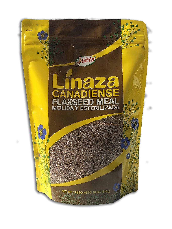Ibitta canadiense de alta fibra de semillas de lino a tierra ...