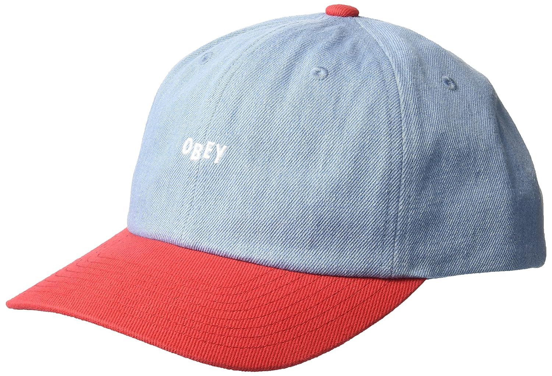 e4e661995cf Amazon.com  Obey Men s WARDLOW 6 Panel Snapback HAT Green O S  Clothing