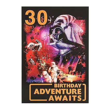Hallmark Star Wars 30th Tarjeta de cumpleaños