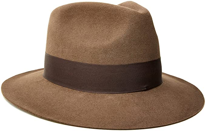 1930s Style Mens Hats Indiana Jones Fur Felt Fedora $107.07 AT vintagedancer.com