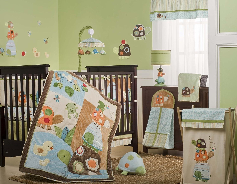 Baby crib for sale laguna - Amazon Com Carter S Laguna 4 Piece Crib Bedding Set Discontinued By Manufacturer Baby
