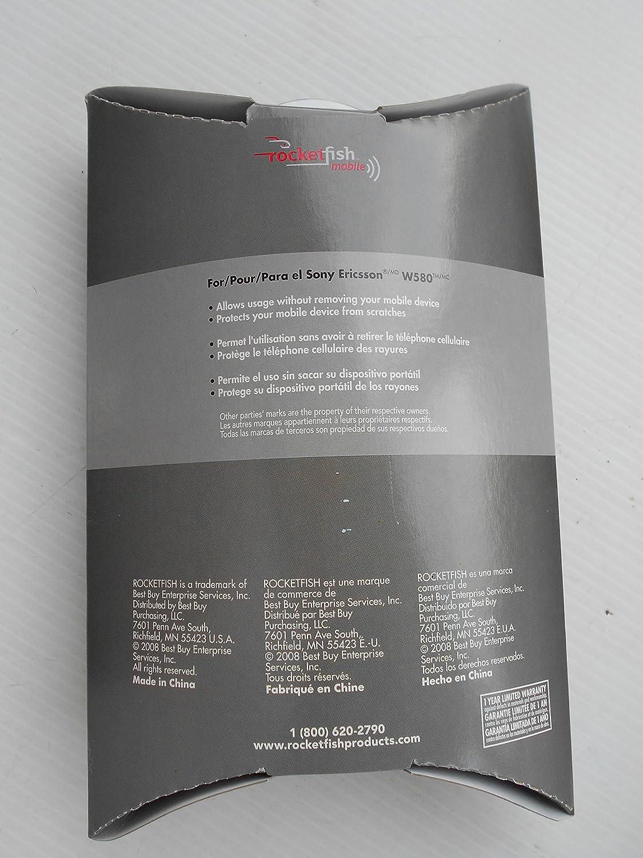 Amazon.com: Rocketfish Sony Ericsson Acrylic Case Clear RF ...