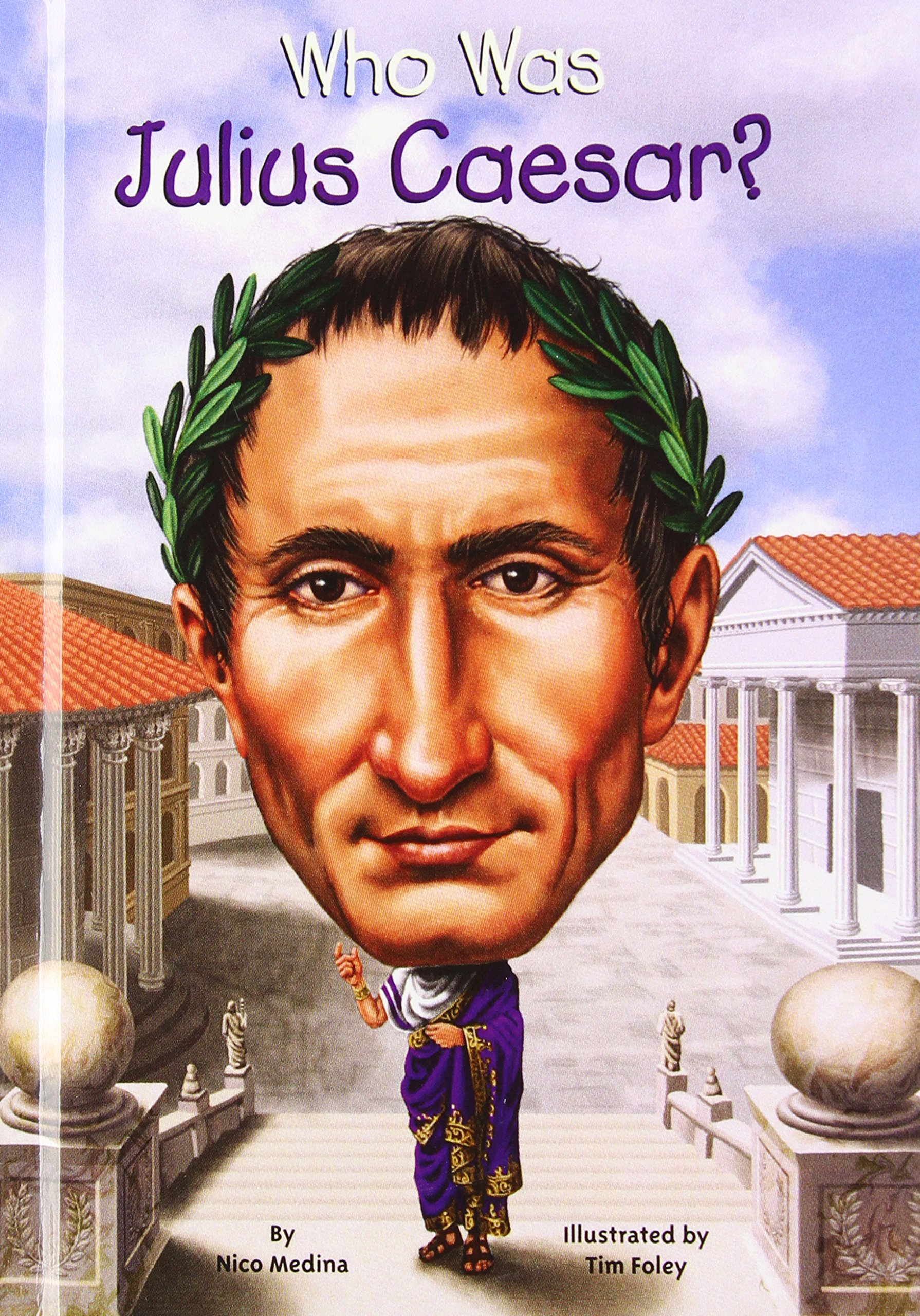 Download Who Was Julius Caesar? (Turtleback School & Library Binding Edition) ebook