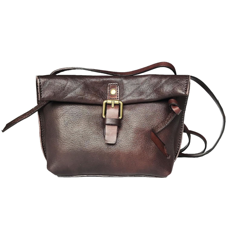 93ed695d3e60 Rhathymia Handmade Vintage Women Small Genuine Leather CrossBody ...