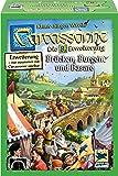Hans im Glück SSP48267 - Carcassonne: Brücken Burgen und Basare, Familien Standardspiele