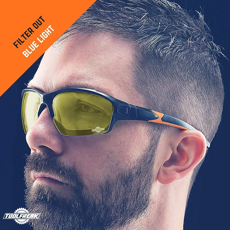 ToolFreak Spoggle Gris Gafas de Seguridad y Gafas Protectoras combinadas