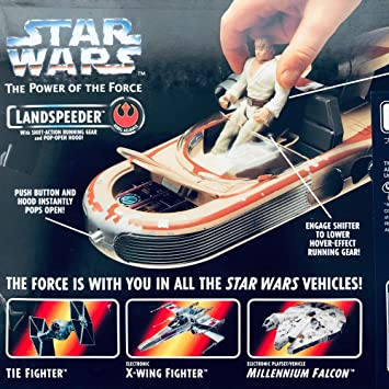 Star Wars The Power Of The Force Landspeeder