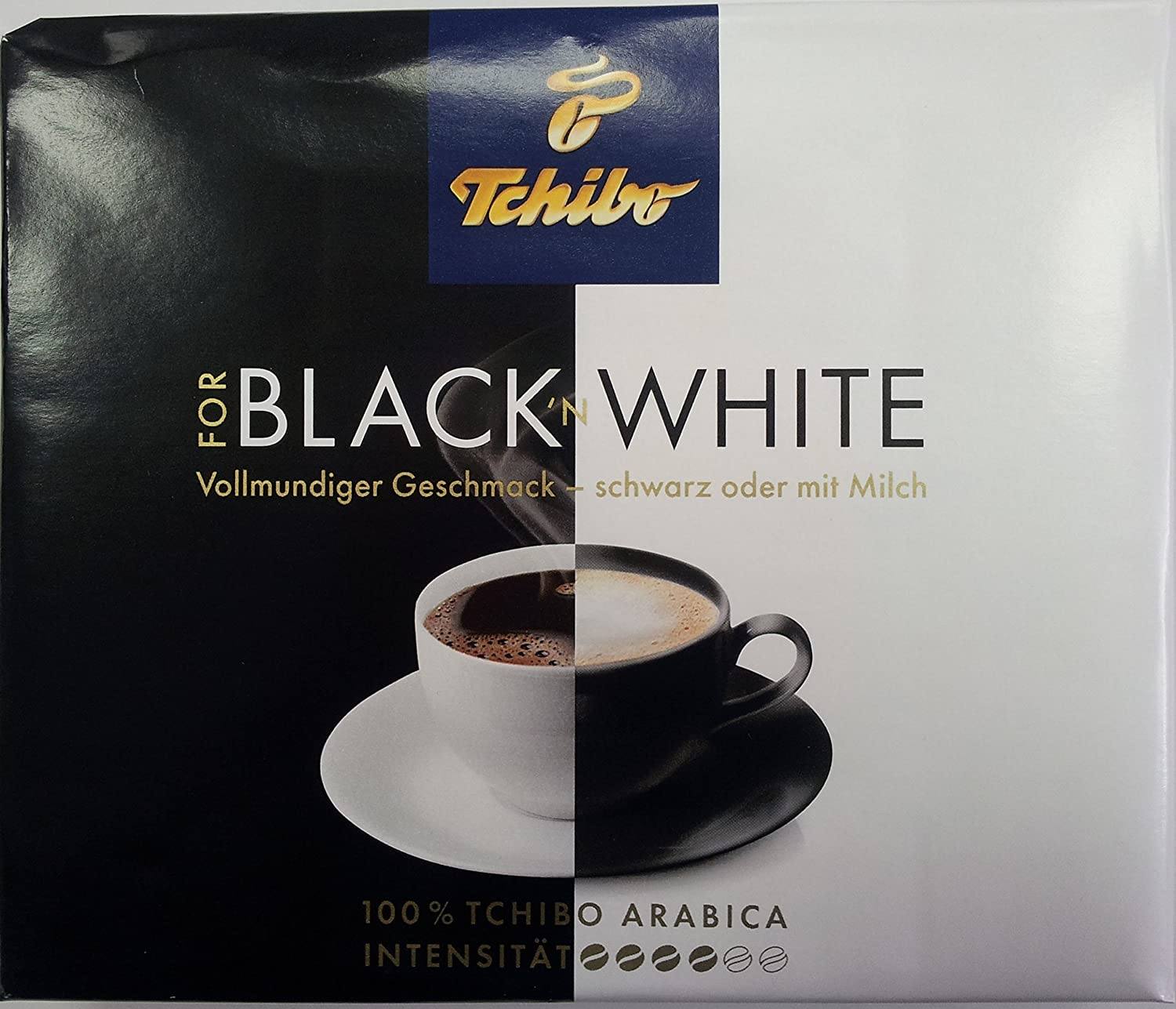 Tchibo Negro n Color Blanco De Café Molido 500 g: Amazon ...