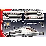 Mehano - T110 - Radio Commande, Véhicule Miniature - Coffret TGV Réseau Tricourant