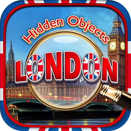 Hidden Objects - London Adventure Quest & Object Time Puzzle Seek & Find Photo Differences