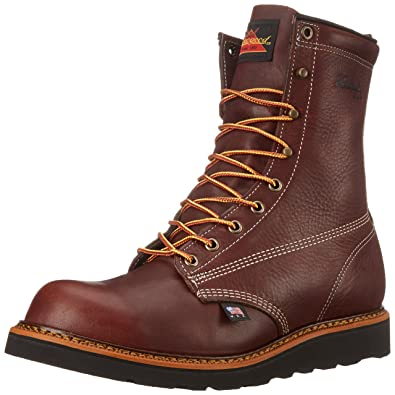Amazon.com: Thorogood Men's American Heritage Plain-Toe Work Boot ...