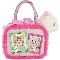 "Aurora Best Kitties Fancy Pals Purse with 8"" Cat"