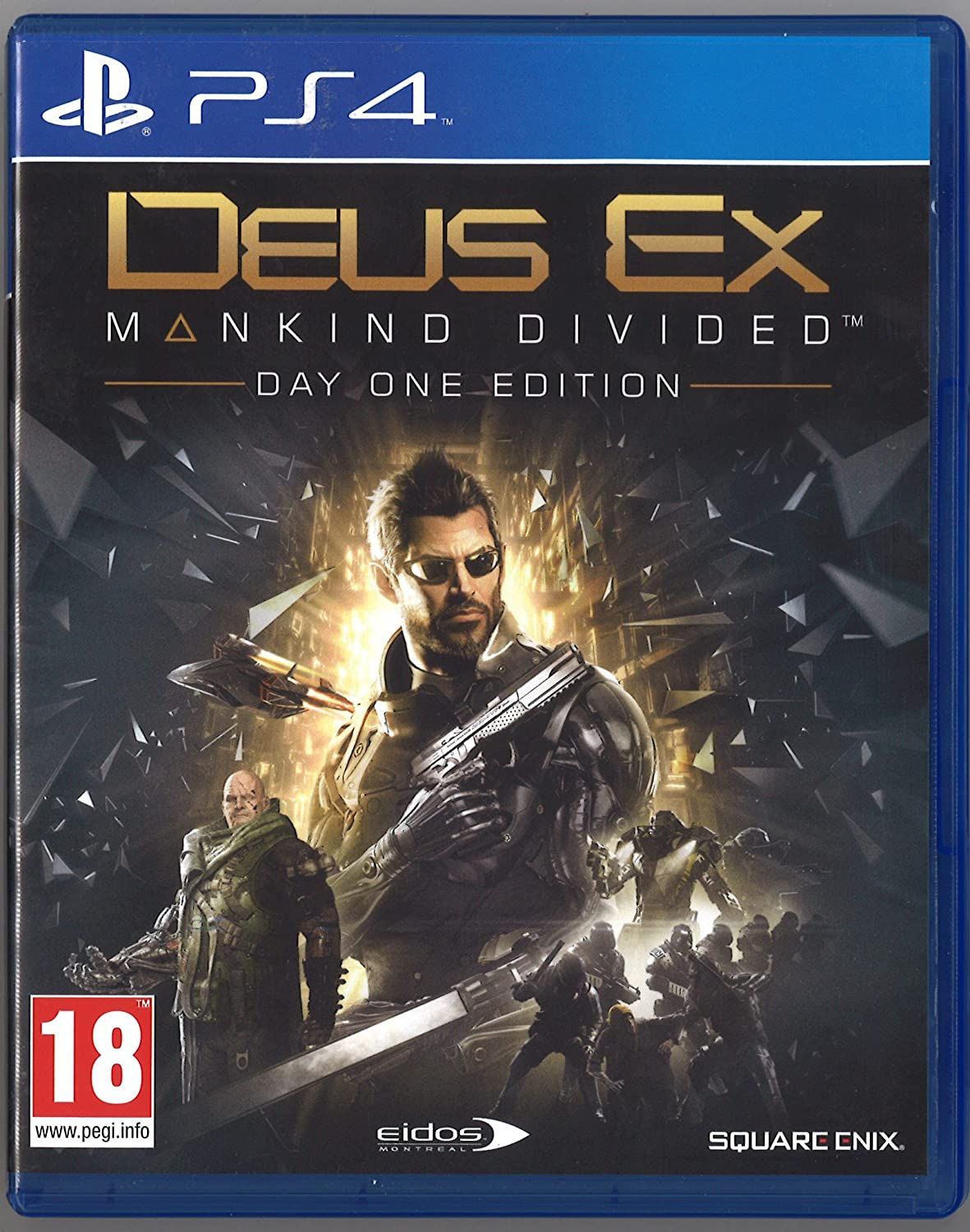 Deus Ex: Mankind Divided - Day One Edition: Amazon.es: Videojuegos