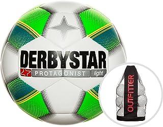 Derby Star Protagonista Light palloni da Calcio palloni da Calcio, Calcio, Bianco/Verde/Giallo, 5 ADINM|#adidas B10-1021503156