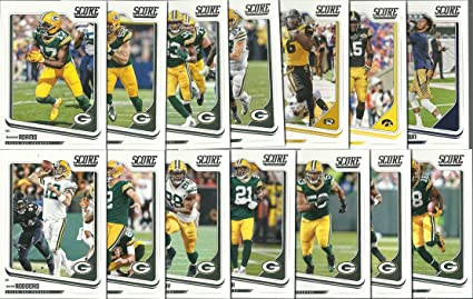 Image Unavailable. Image not available for. Color  2018 Panini Score  Football Green Bay Packers Team Set 14 Cards ... e8dcd9742