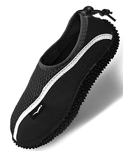 Quick Dry Water Shoes Aqua Socks Barefoot Slip-On With Adjustable Back Strap For Men Women