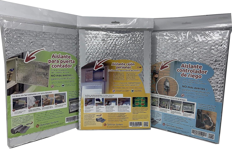 Aislante Control de riego/Aislante Contador de Agua - 0,60 x 0,35 m Optim Home - Polynum: Amazon.es: Hogar