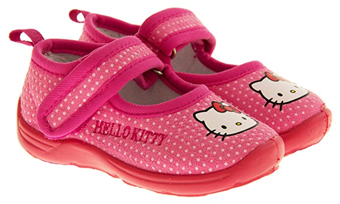 Hello Kitty Girls Intensa Velcro Strap Mary Jane Slippers, Pink Shoes, 12  UK (30 EUR) Child: Amazon.co.uk: Shoes & Bags