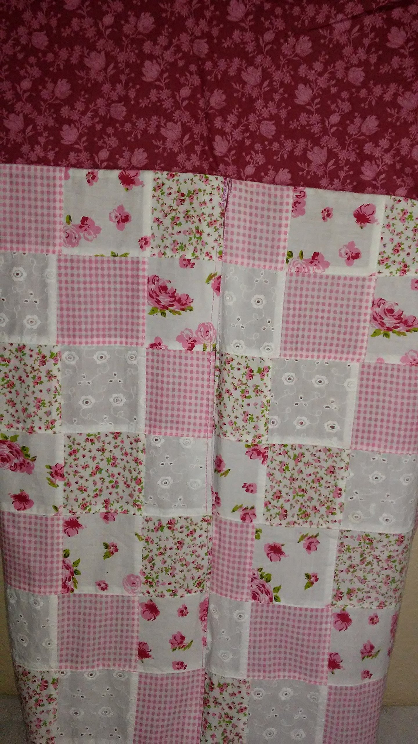 Baby Girl, Pink, Diaper Stacker, Storage, Nursery Decor, Flowers, Quilted, Large Diaper Bin, Baby Shower Gift, Baptism