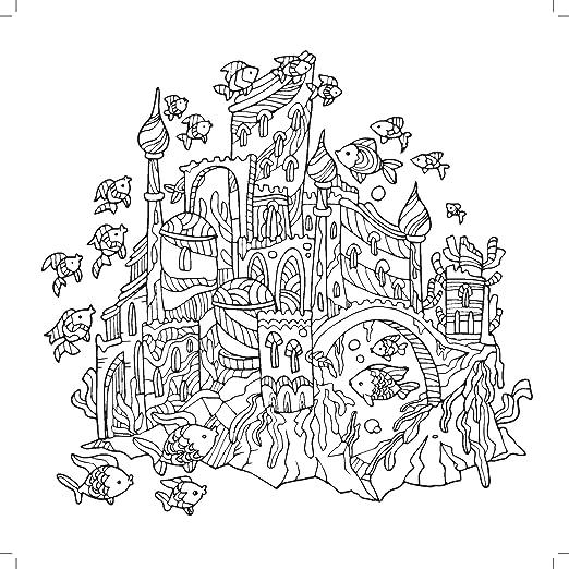 Kaisercraft - Libro para Colorear Deep Sea (CL506): Amazon.es: Hogar