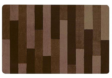 Plank 150 Cm.Spirella 10 16212 Bath Mat 80 X 150 Cm Plank Brown Amazon Co Uk
