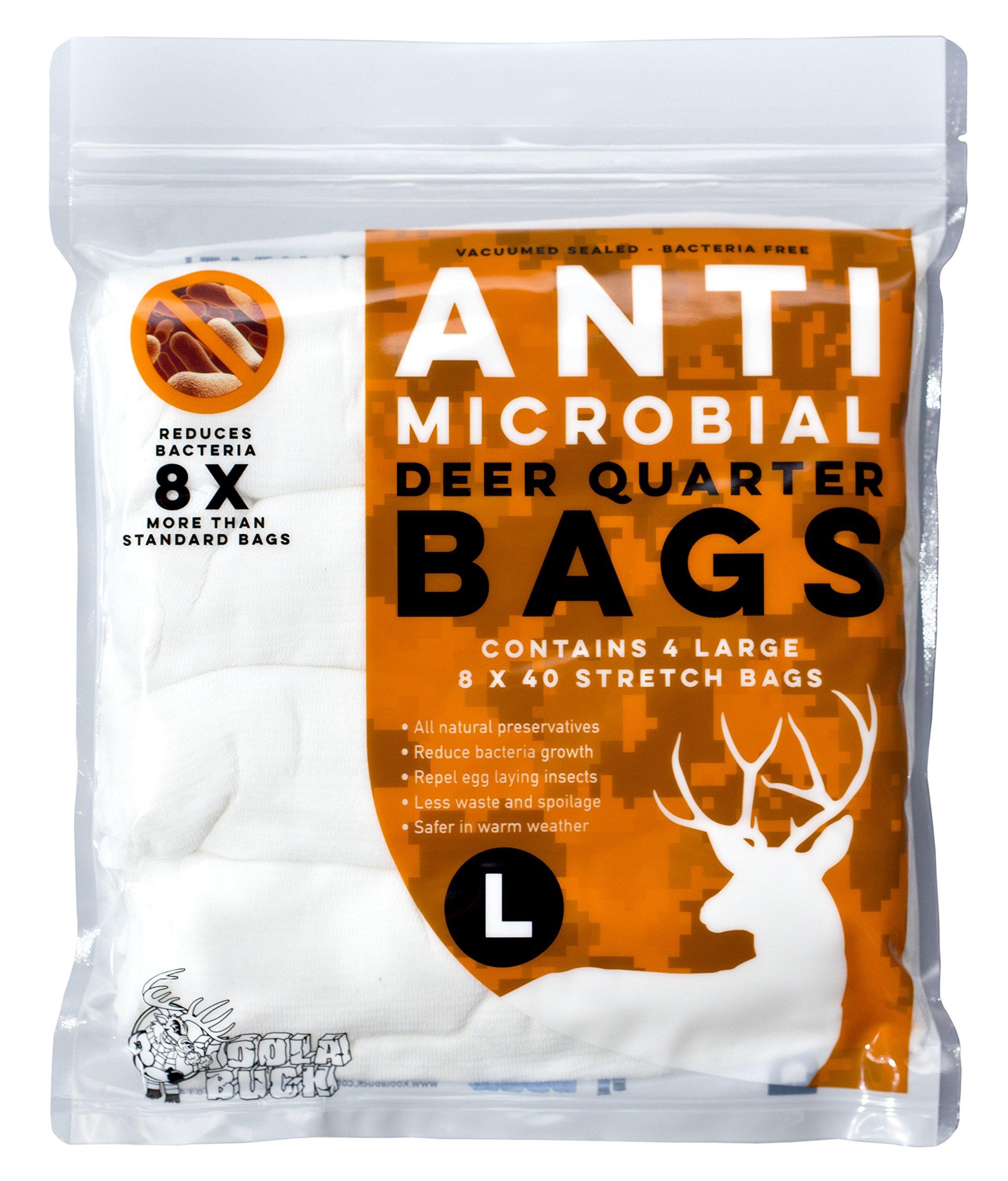 Koola Buck Antimicrobial Game Bags (Deer 4 Pack)