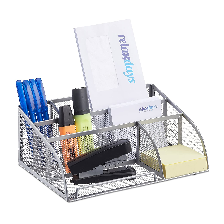 Schreibtischorganizer Büroorganizer Schreibtischbox Tischorganizer 6Ablagen Mesh