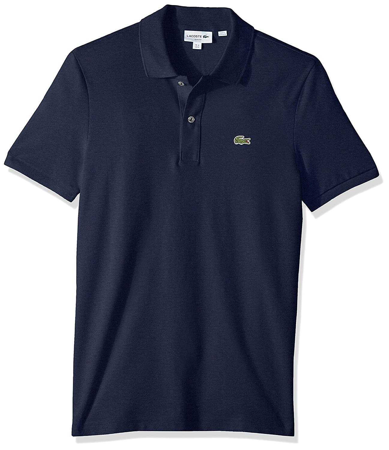 5b7a82a49 Lacoste Men's Petit Piqué Slim Fit Polo Shirt at Amazon Men's Clothing  store: