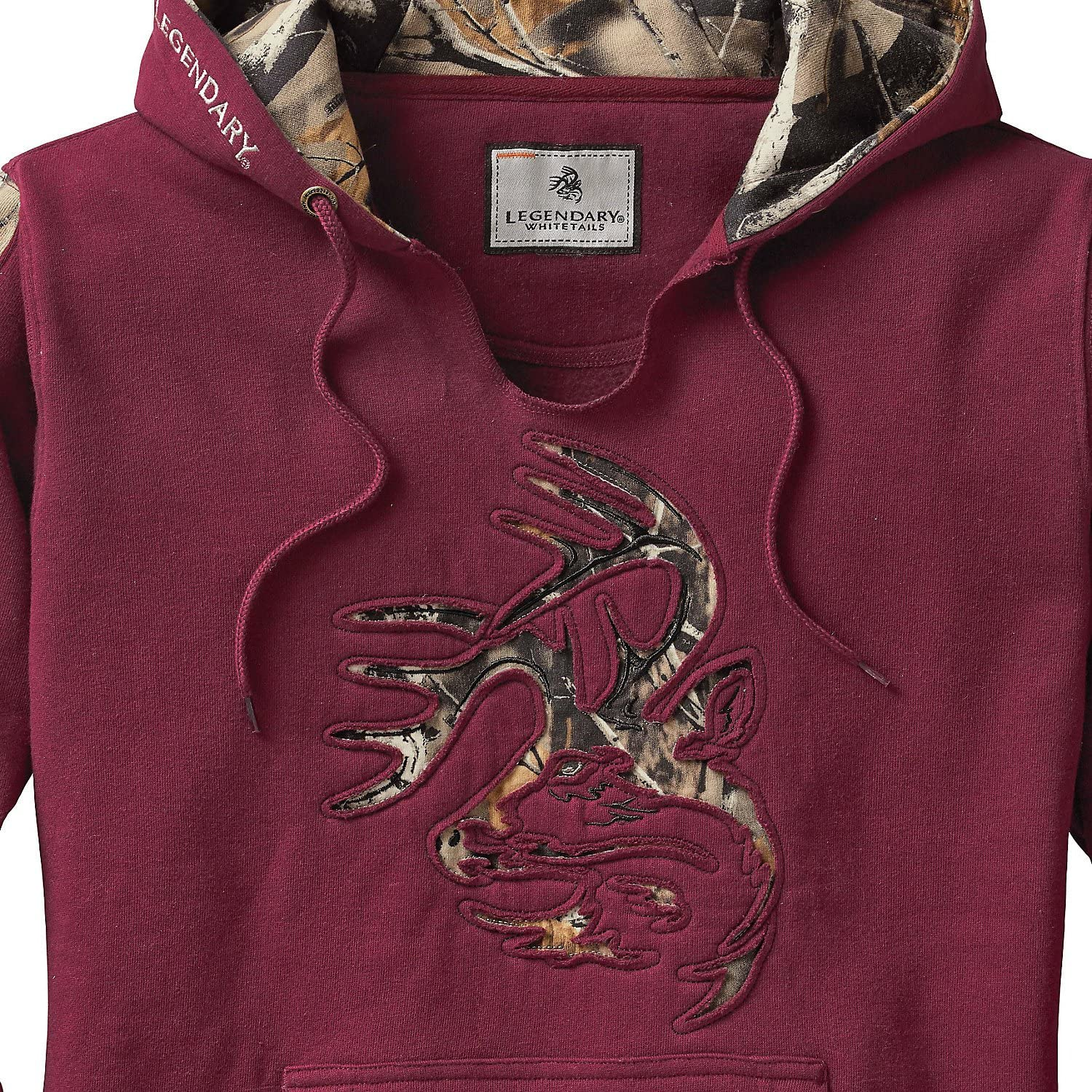 Legendary Whitetails Womens Camo Outfitter Hoodie