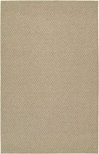 Garland Rug Town Square Area Rug, 9-Feet by 12-Feet, Tan