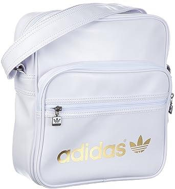 002ceec4ae adidas Originals Ac Sir Bag, Pochette multisport homme - Blanc, Cuir ...