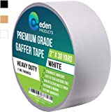 """REAL Professional Grade Gaffer Tape 2"""" X 30 Yards by EdenProducts, Strongest On The Market, Residue Free, Heavy Duty Non…"""