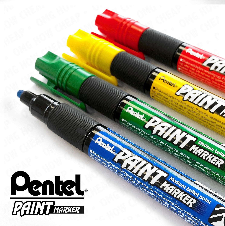Pentel Paint Marker MMP20 Medium bullet point paint marker pen SKY BLUE