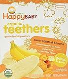 Happy Family Teething Wafers - Banana & Sweet Potato - 1.7 oz