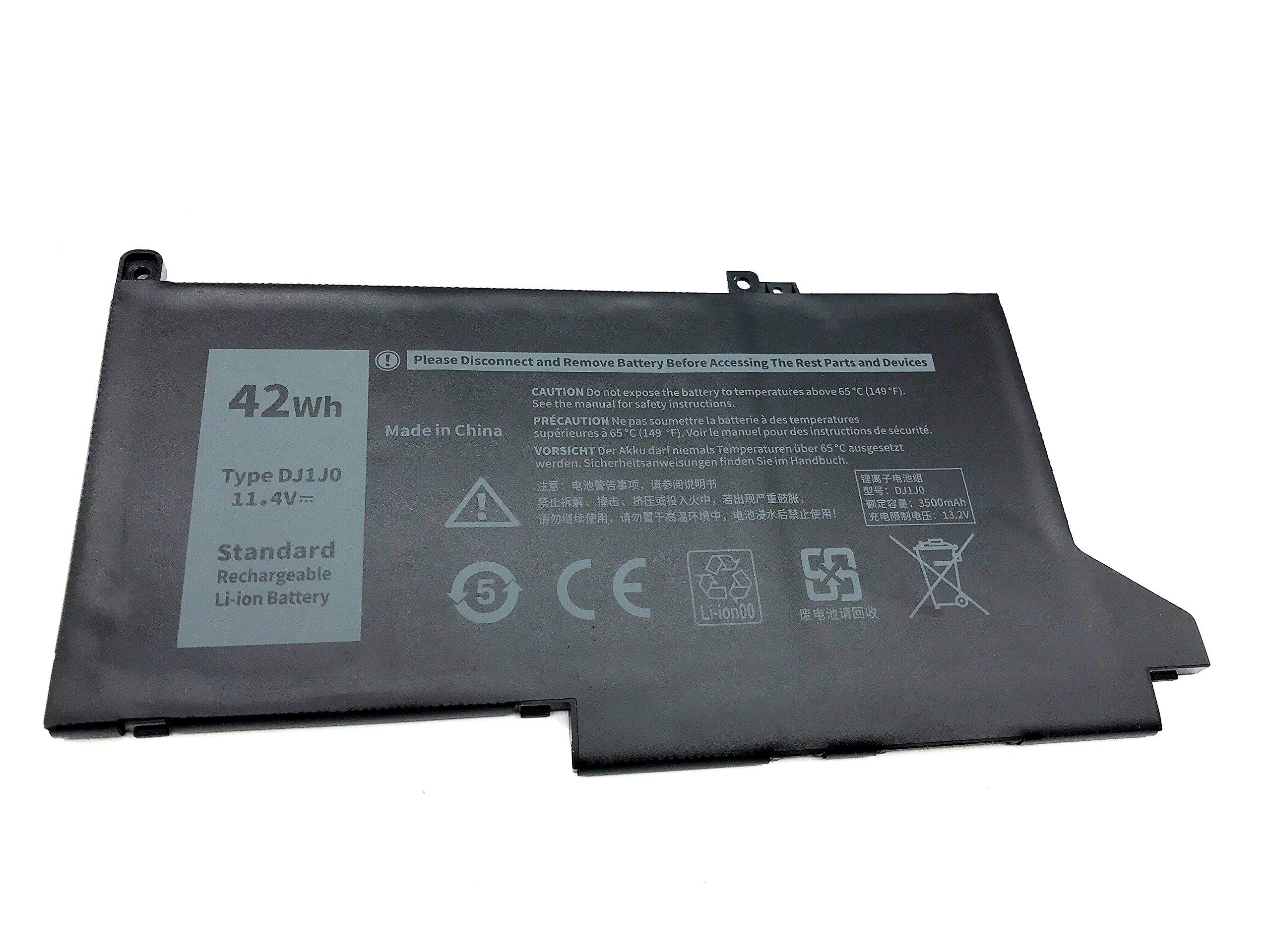 Bateria DJ1J0 11.4V 42Wh Dell Latitude 12 7000 7280 7480 Ser