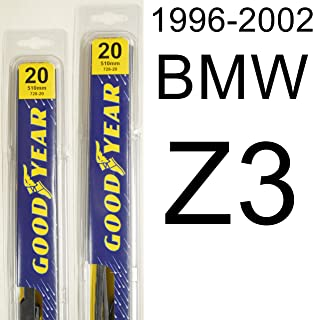 "product image for BMW Z3 (1996-2002) Wiper Blade Kit - Set Includes 20"" (Driver Side), 20"" (Passenger Side) (2 Blades Total)"