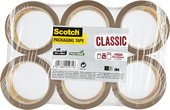 2 ROLLS 4-Colour  Branded Extra-Strong Parcel Packing Packaging Tape !SAVE!