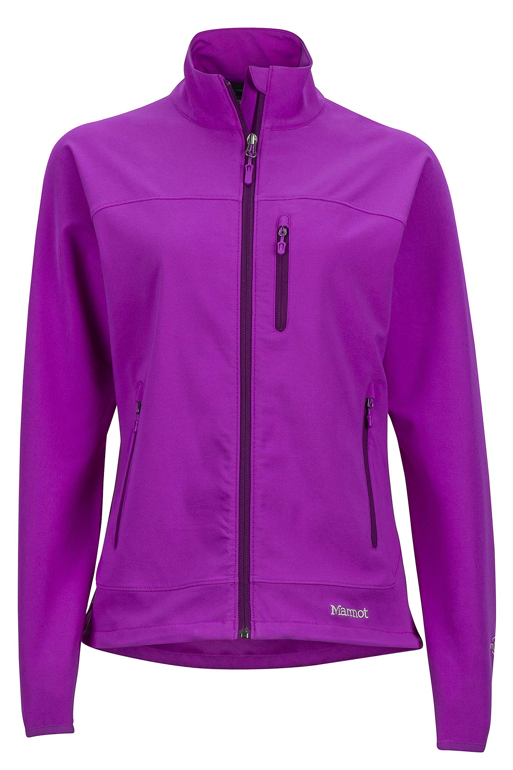 Marmot Women's Tempo Softshell Jacket, Neon Berry, Medium by Marmot