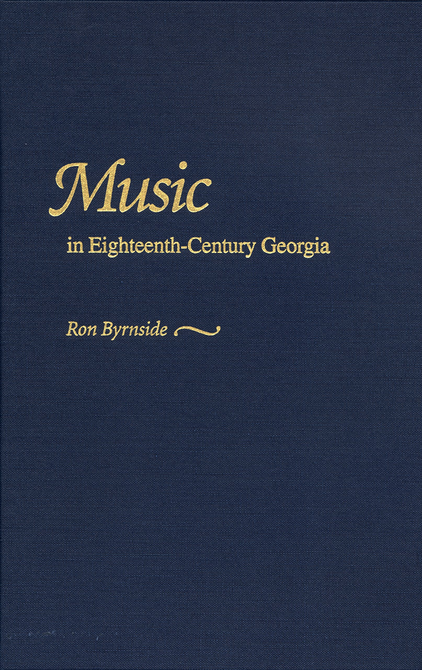 Download Music in Eighteenth-Century Georgia pdf
