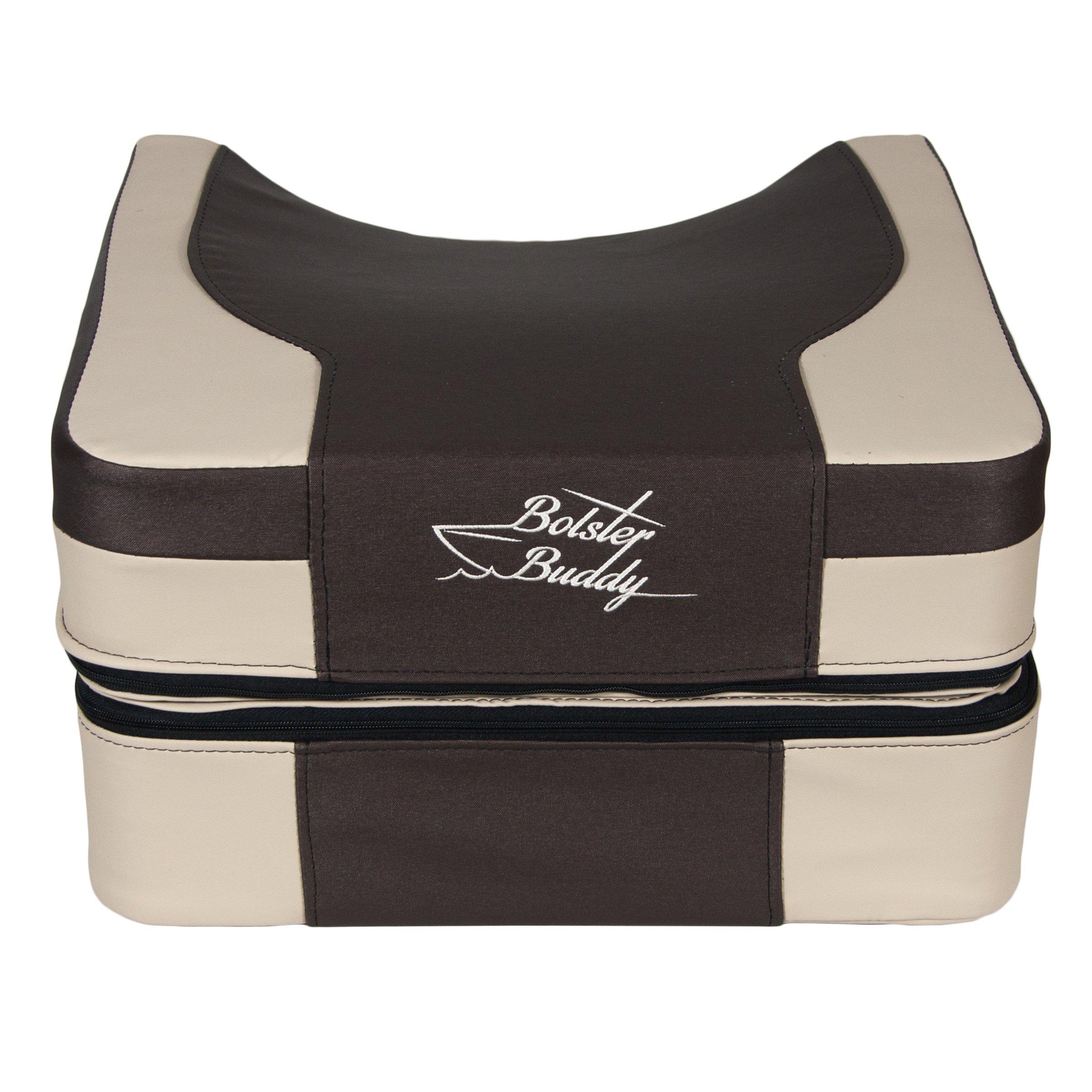Bolster Buddy Quality Boat Seat Cushion (Mocha) (X-Large) by Bolster Buddy