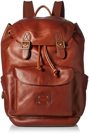a4e5d03a4 Cole Haan mens Cole Haan Van Buren Leather Backpack Backpacks - brown -:  Amazon.co.uk: Clothing