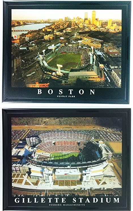 Switch Plate Cover Art Glass Boston Red Sox