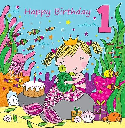 Twizler - Tarjeta de felicitación de primer cumpleaños para ...