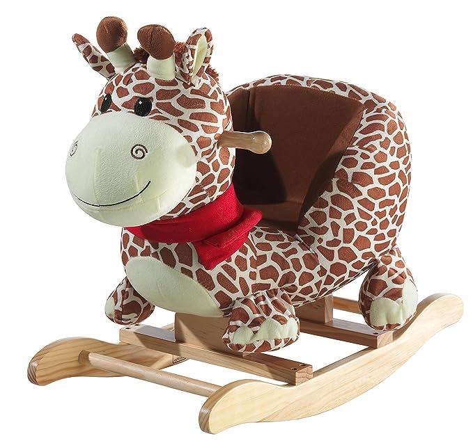 Raffa La Dondolo Giraffa.Heunec 726574 Dondolo Giraffa Amazon It Giochi E Giocattoli