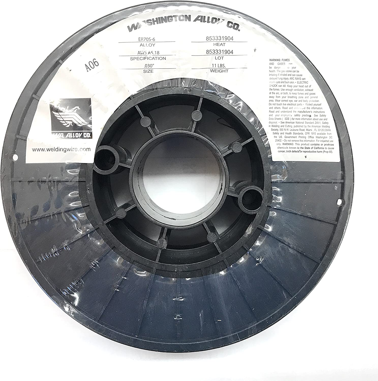 """Mild Steel MIG Welding Wire 11 Lbs Spool 0.8 mm ER70S-6 .030/"""" PGN"""
