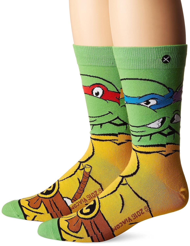 Odd Sox - Mens - Ninja Turtles - Retro Turtles Socks