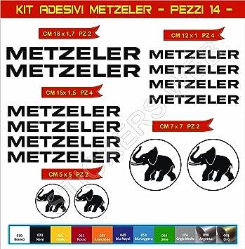 Cod 0567 Pimastickerslab Aufkleber Stickers METZELER Motorrad